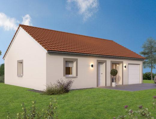 modèle de maison 80 m²