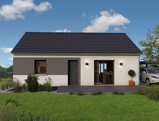 modèle maison 80 m²