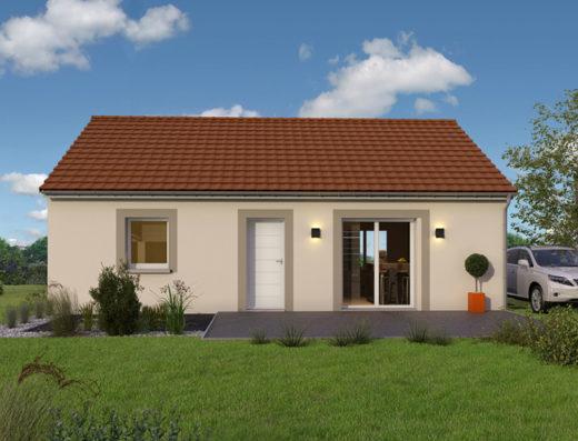 modèle maison 80 m² sans garage